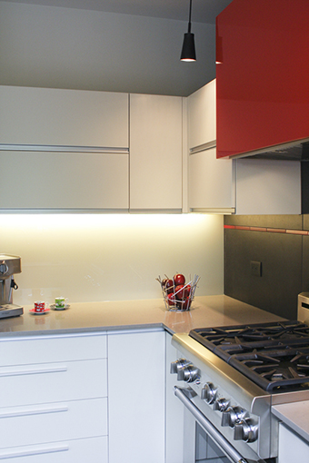 backsplash lumineux