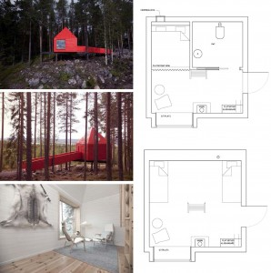 Treehotel the blue cone suisse