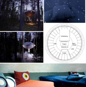 Treehotel the UFO OVNi suisse